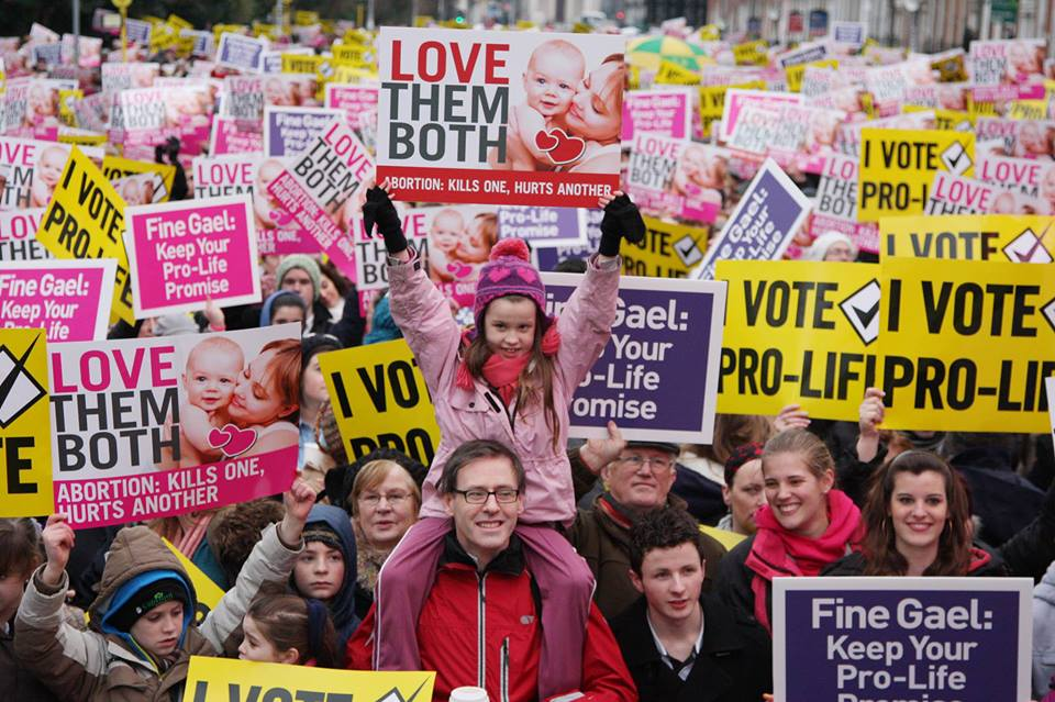 06.05.2013: Stand up for life! National Vigil For Life, 8th June, Merrion Square, 3-4pm
