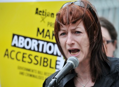 4.02.2015: Clare Daly abortion Bill is just part of her campaign for wider abortion