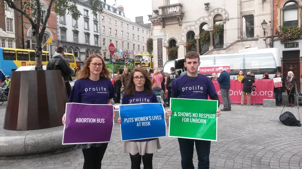 """23.10.2015: Abortion pill bus """"grossly irresponsible and life-endangering,"""" says Sherlock"""