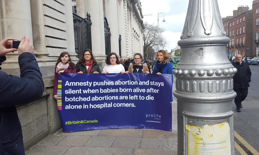29.03.2016: Amnesty ignores horrific human rights  abuses in abortion industry