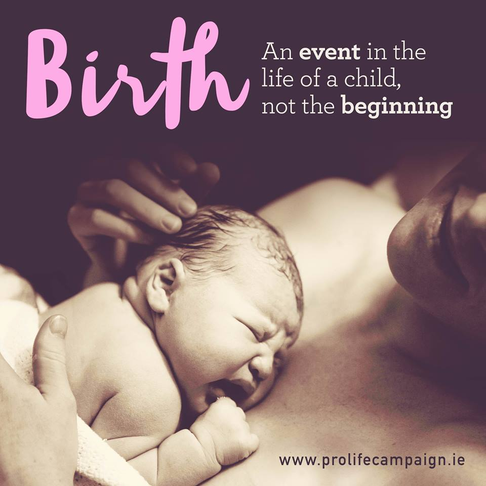 Birth is an event