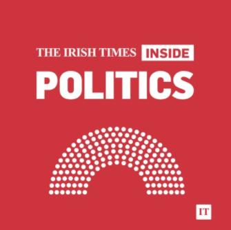 "26-04-2017 Cora Sherlock on the Irish Times ""Inside Politics"" podcast."