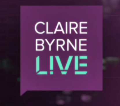 Liz Mcdermott on Claire Byrne Live