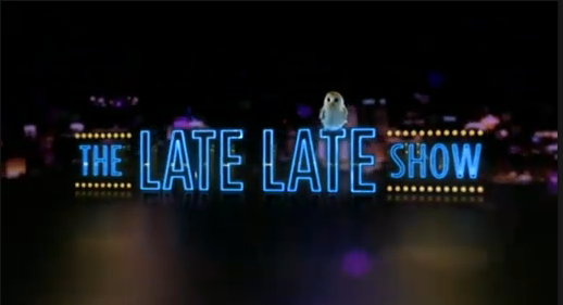10.11.2015: Caroline Simons on the Late Late Show