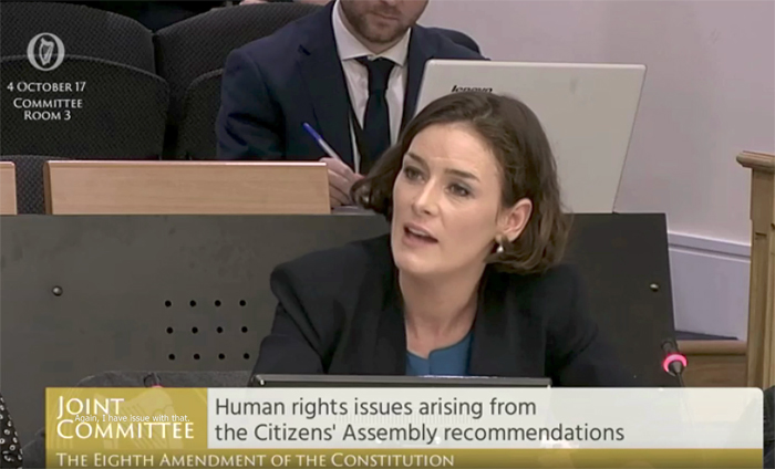 23.11.2017: Pro Life Campaign calls on Deputy Kate O'Connell to retract offensive comments made about adoption at Oireachtas Committee
