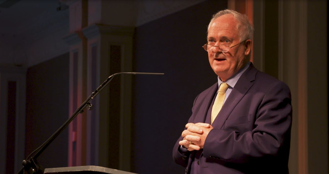 11.09.2018: Watch a clip of John Bruton at the PLC Annual Education Dinner
