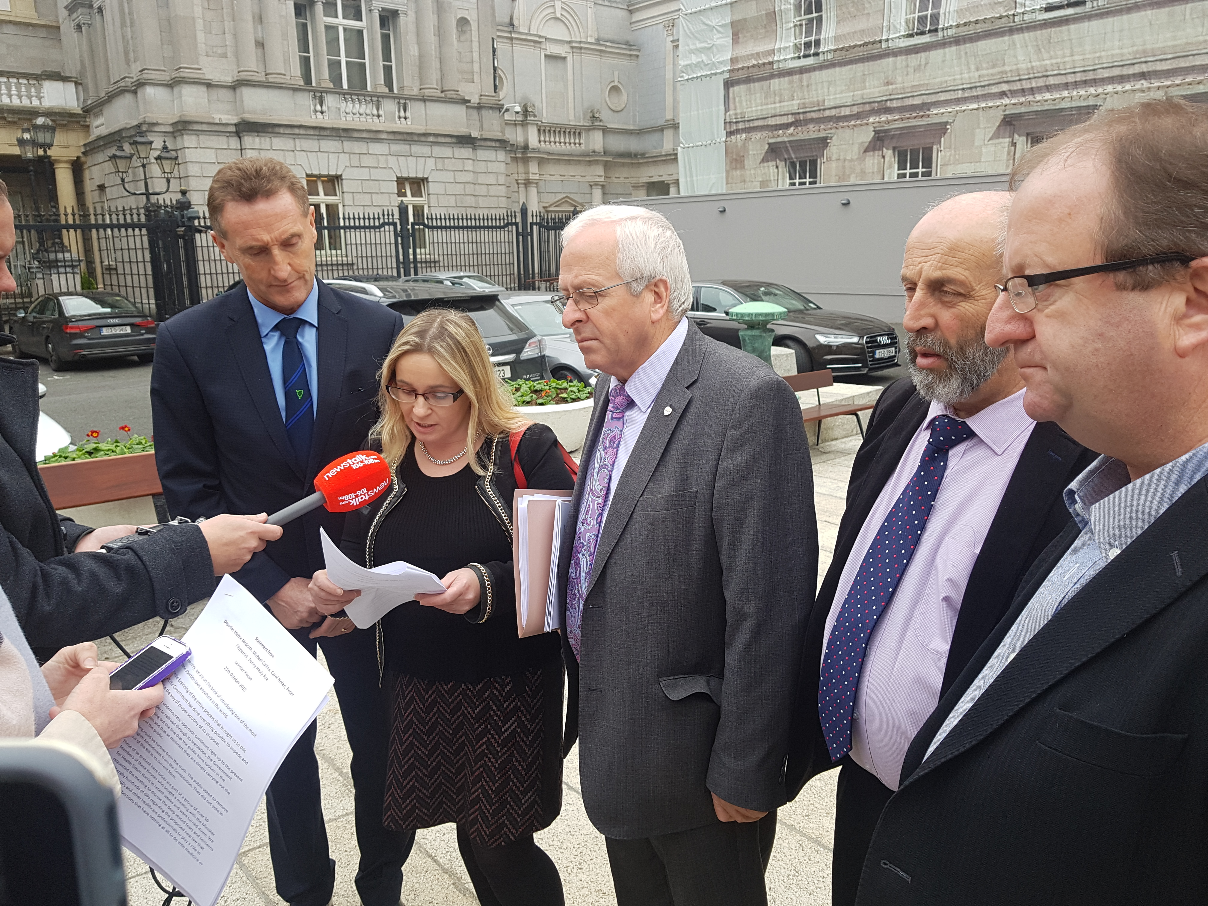 Minister Harris refuses to meet TDS who have concerns over Abortion Bill