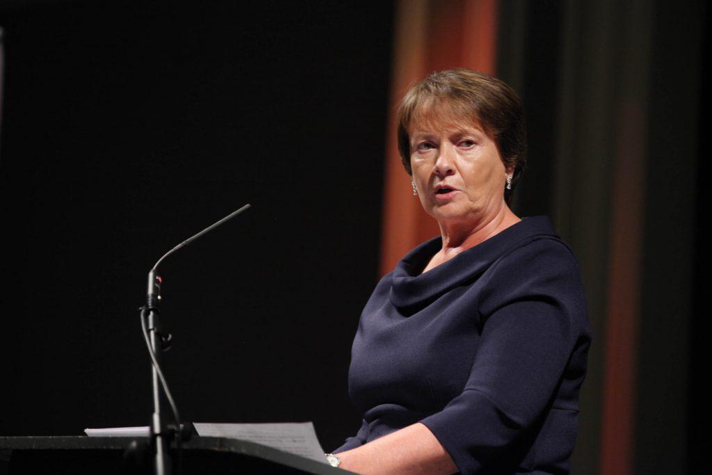 Keynote speaker Elma Walsh