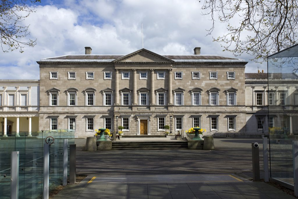 Leinster House, Irish Parliament, Dublin