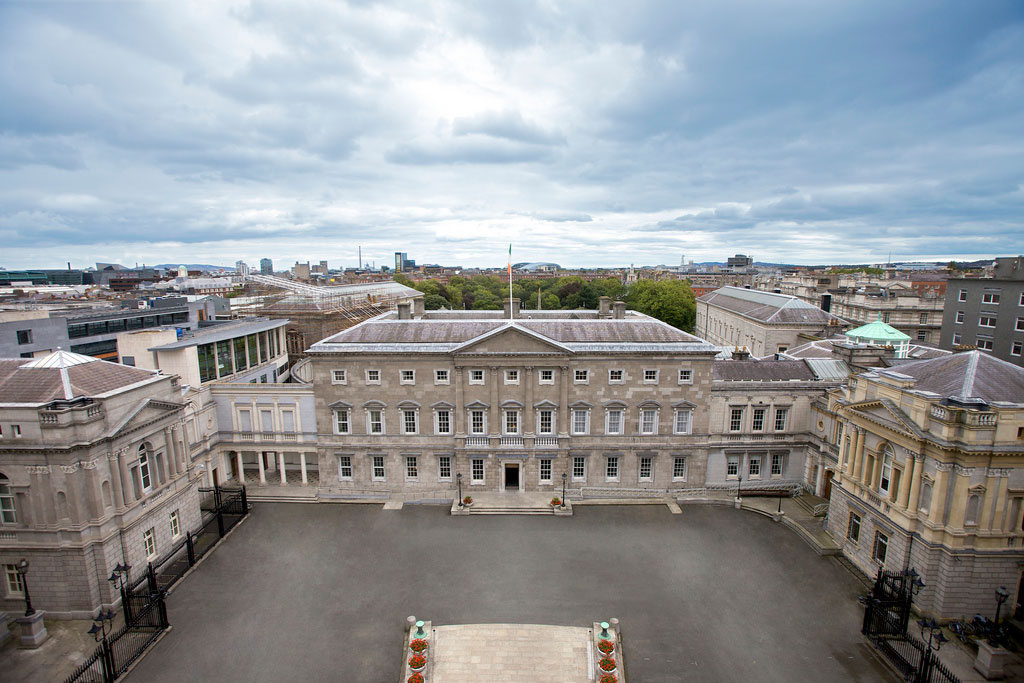 Leinster-House-Aerial-Photo